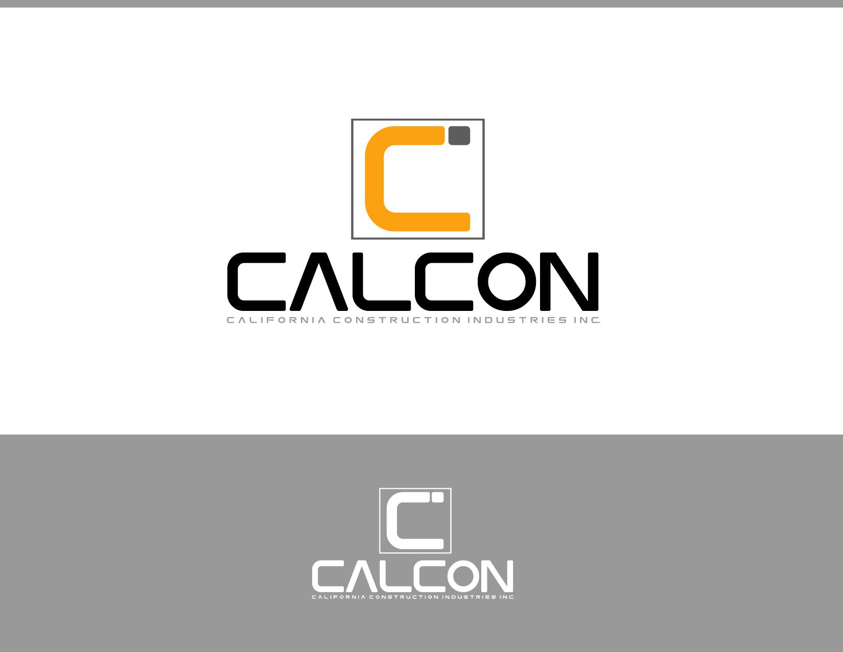 Logo Design by Allan Esclamado - Entry No. 48 in the Logo Design Contest California Construction Industries Inc. Logo Design.