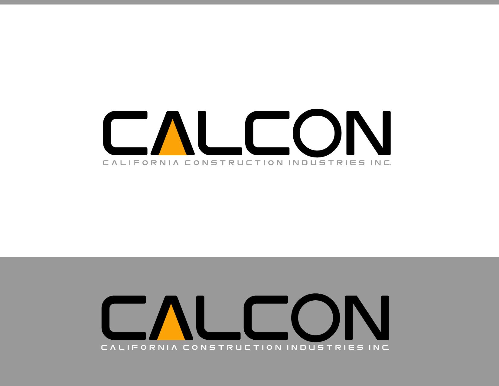 Logo Design by Allan Esclamado - Entry No. 51 in the Logo Design Contest California Construction Industries Inc. Logo Design.