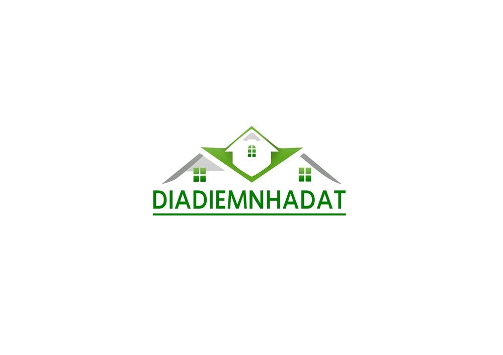 Logo Design by Fita Tiara Sani - Entry No. 13 in the Logo Design Contest New Logo Design for DIADIEMNHADAT.