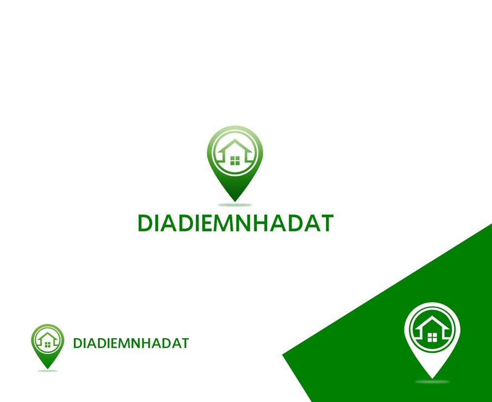 Logo Design by Fita Tiara Sani - Entry No. 15 in the Logo Design Contest New Logo Design for DIADIEMNHADAT.