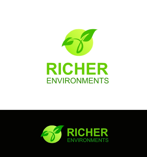 Logo Design by Hania Hassaan - Entry No. 113 in the Logo Design Contest Unique Logo Design Wanted for Richer Environments.