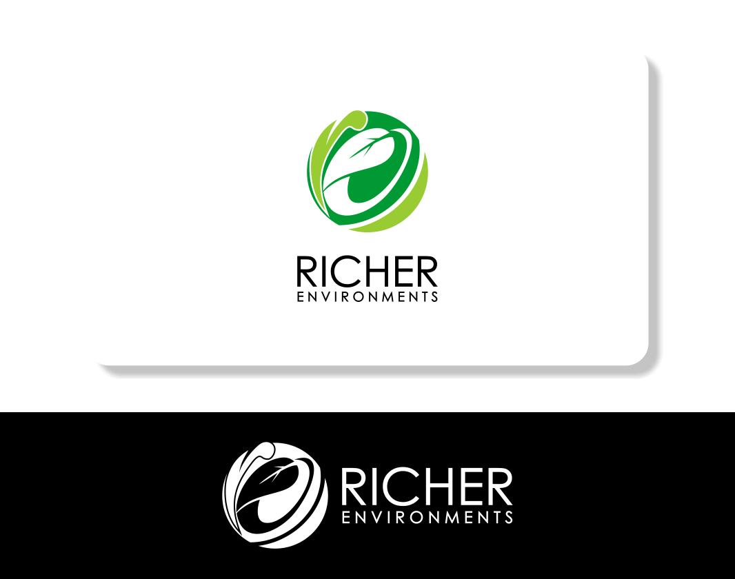 Logo Design by Agus Martoyo - Entry No. 120 in the Logo Design Contest Unique Logo Design Wanted for Richer Environments.
