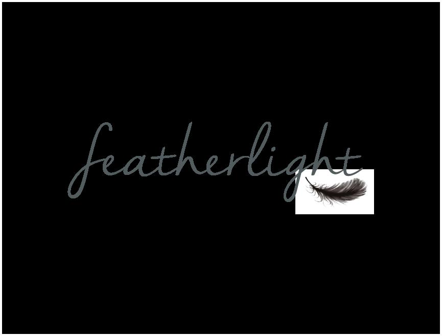 Logo Design by RasYa Muhammad Athaya - Entry No. 19 in the Logo Design Contest Fun Logo Design for featherlight.