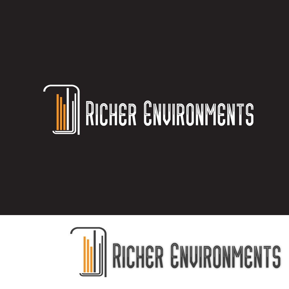 Logo Design by moonflower - Entry No. 126 in the Logo Design Contest Unique Logo Design Wanted for Richer Environments.