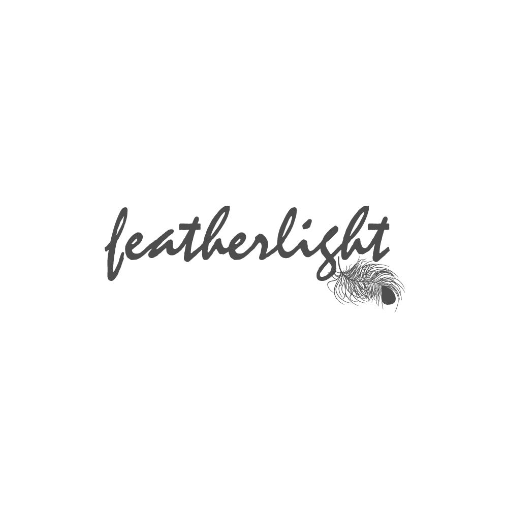 Logo Design by rockin - Entry No. 29 in the Logo Design Contest Fun Logo Design for featherlight.