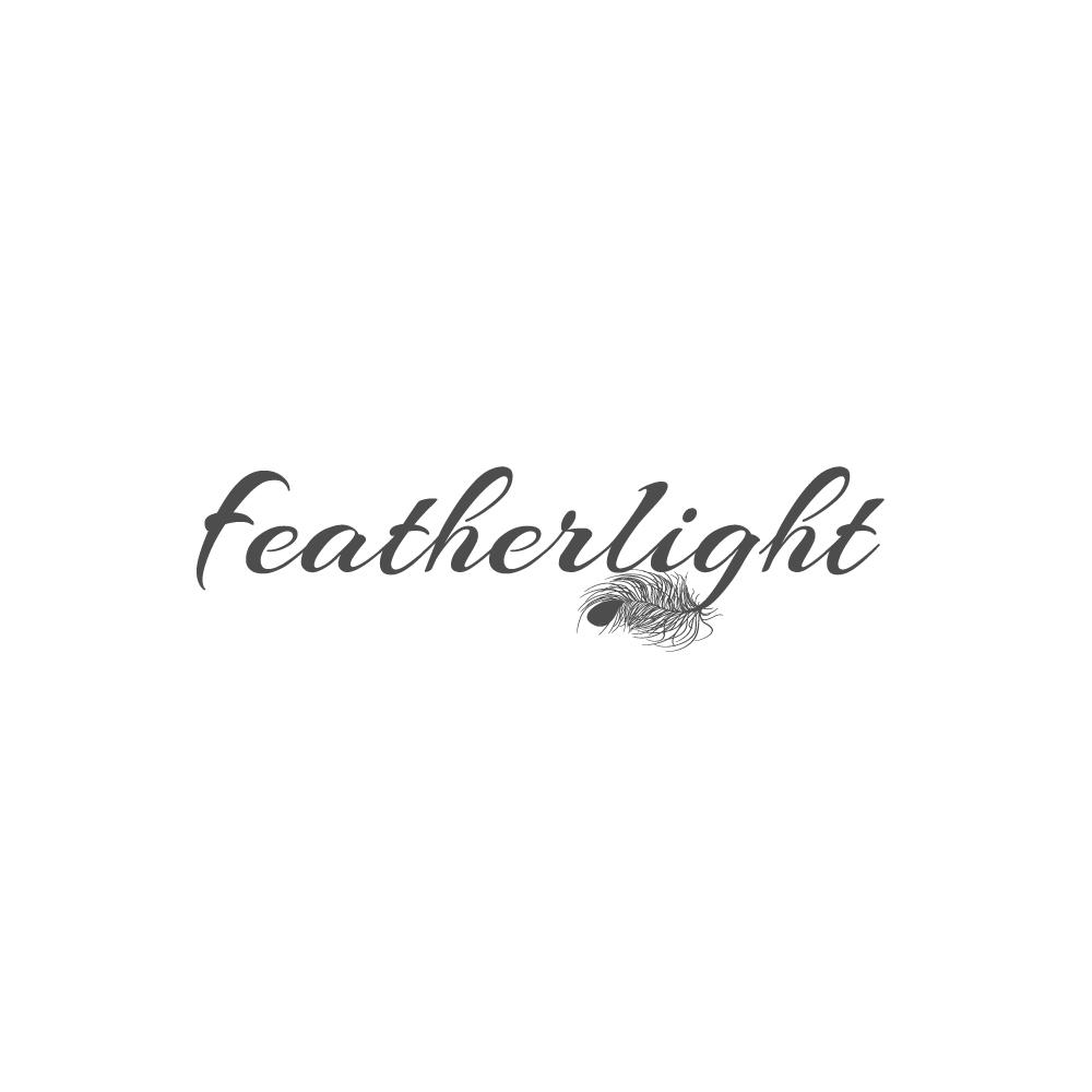 Logo Design by rockin - Entry No. 30 in the Logo Design Contest Fun Logo Design for featherlight.