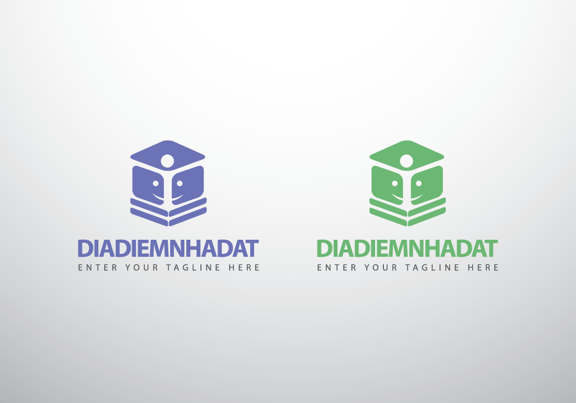Logo Design by Asrullah Muin - Entry No. 41 in the Logo Design Contest New Logo Design for DIADIEMNHADAT.