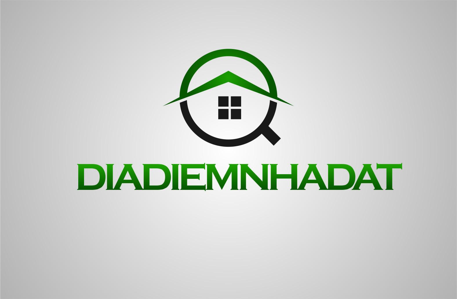 Logo Design by Yuda Hermawan - Entry No. 45 in the Logo Design Contest New Logo Design for DIADIEMNHADAT.
