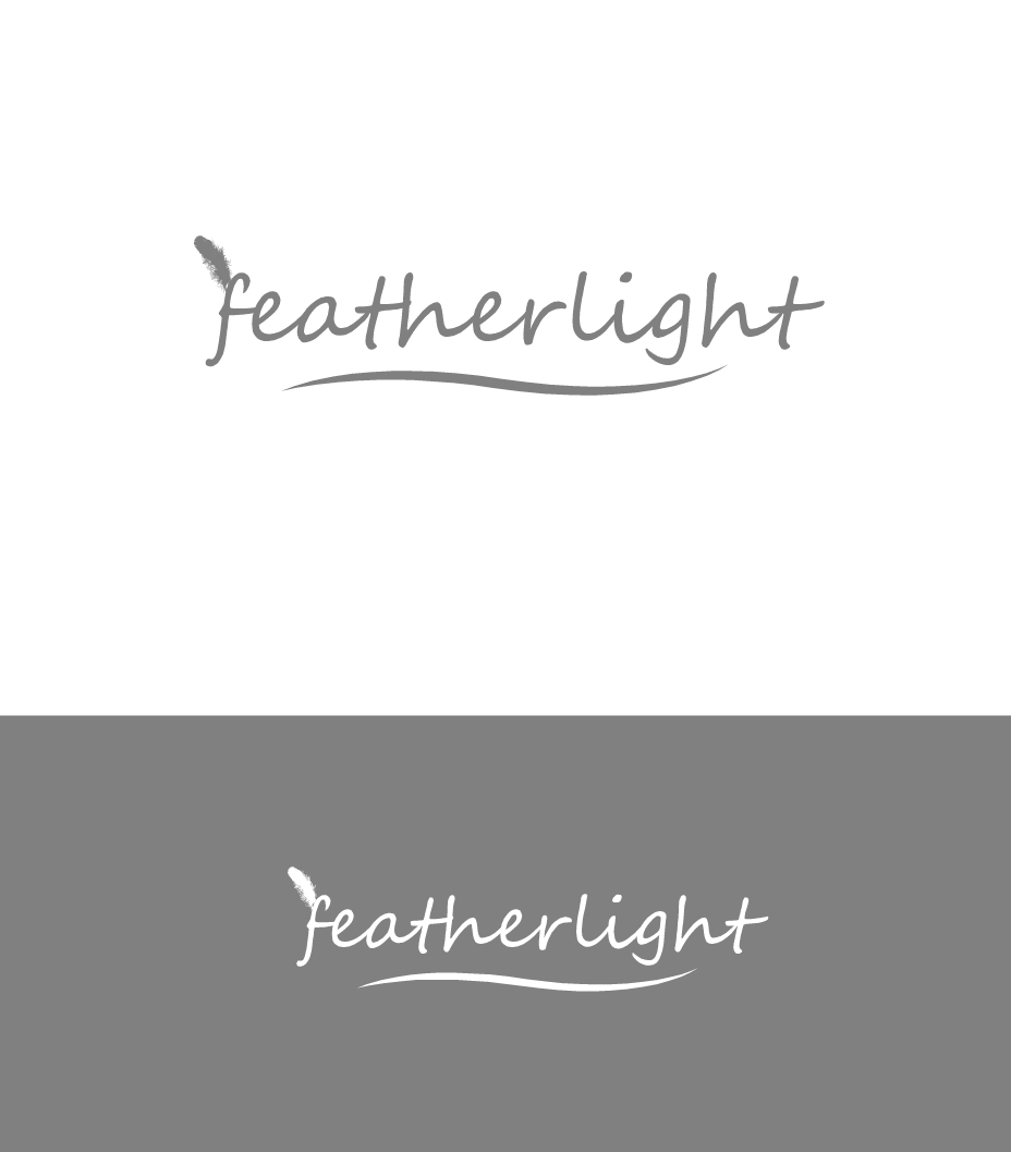 Logo Design by Hania Hassaan - Entry No. 47 in the Logo Design Contest Fun Logo Design for featherlight.