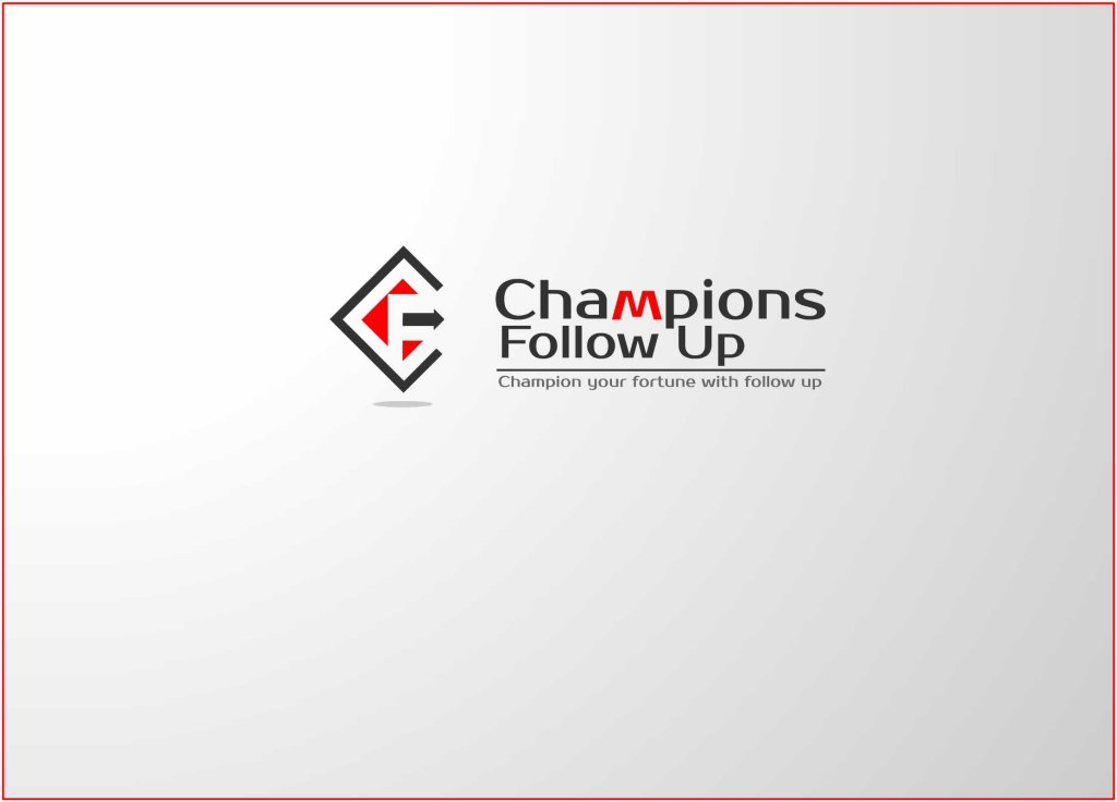 Logo Design by Private User - Entry No. 7 in the Logo Design Contest Fun Logo Design for Champions Follow Up.