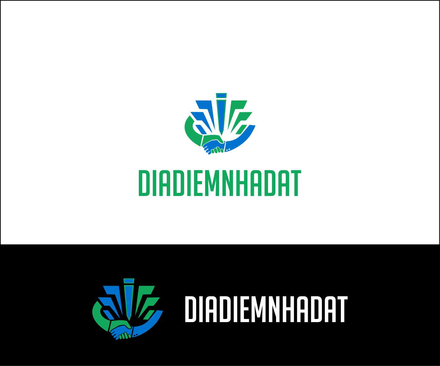 Logo Design by Private User - Entry No. 59 in the Logo Design Contest New Logo Design for DIADIEMNHADAT.