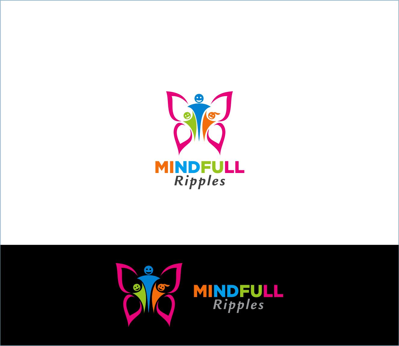 Logo Design by Armada Jamaluddin - Entry No. 27 in the Logo Design Contest Mindful Ripples Logo Design.
