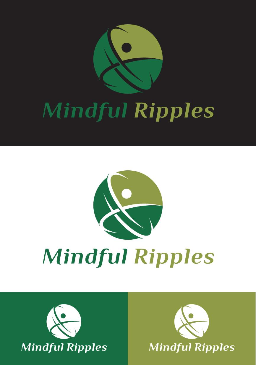 Logo Design by RasYa Muhammad Athaya - Entry No. 32 in the Logo Design Contest Mindful Ripples Logo Design.