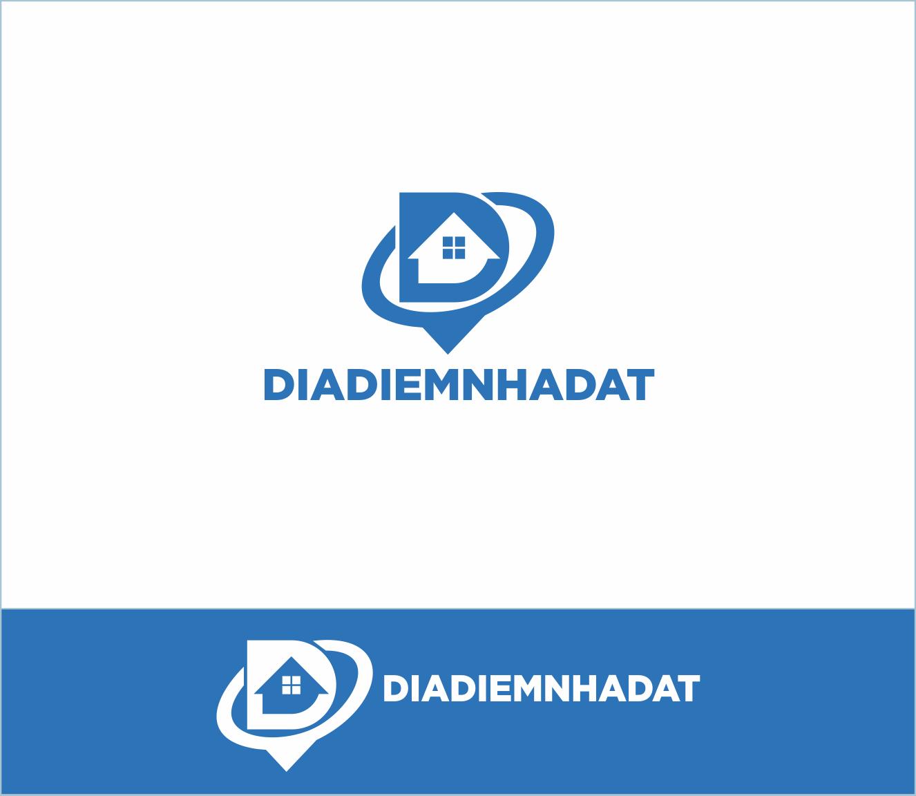 Logo Design by Armada Jamaluddin - Entry No. 77 in the Logo Design Contest New Logo Design for DIADIEMNHADAT.