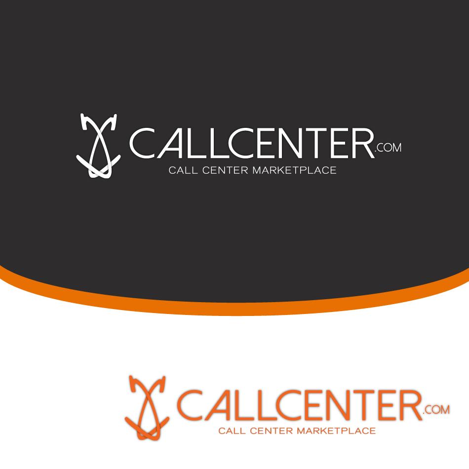 Logo Design by moonflower - Entry No. 45 in the Logo Design Contest Captivating Logo Design for CallCenter.com.