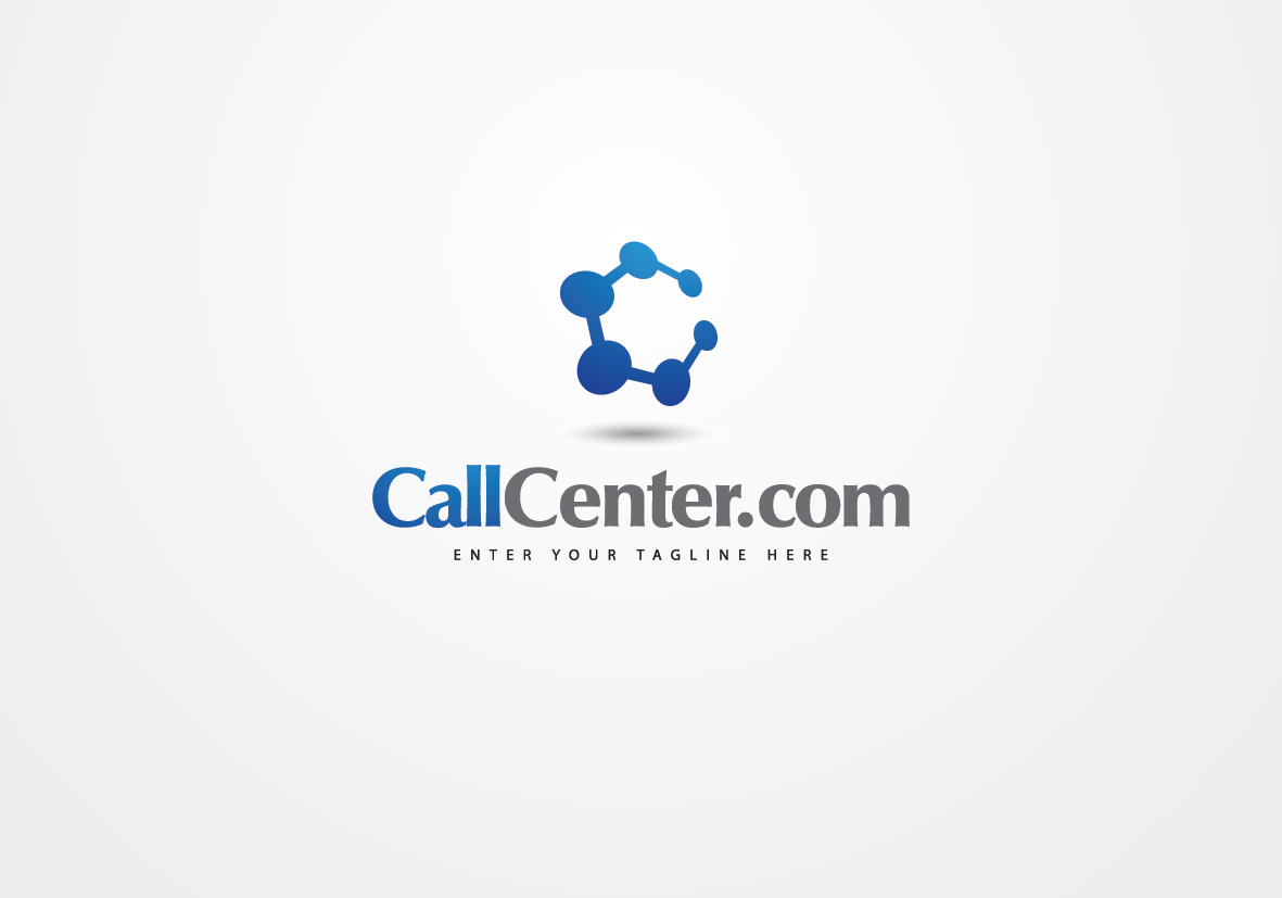 Logo Design by Asrullah Muin - Entry No. 53 in the Logo Design Contest Captivating Logo Design for CallCenter.com.