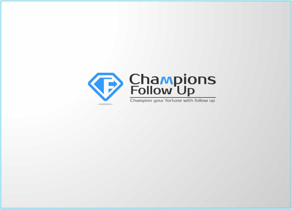 Logo Design by Private User - Entry No. 35 in the Logo Design Contest Fun Logo Design for Champions Follow Up.