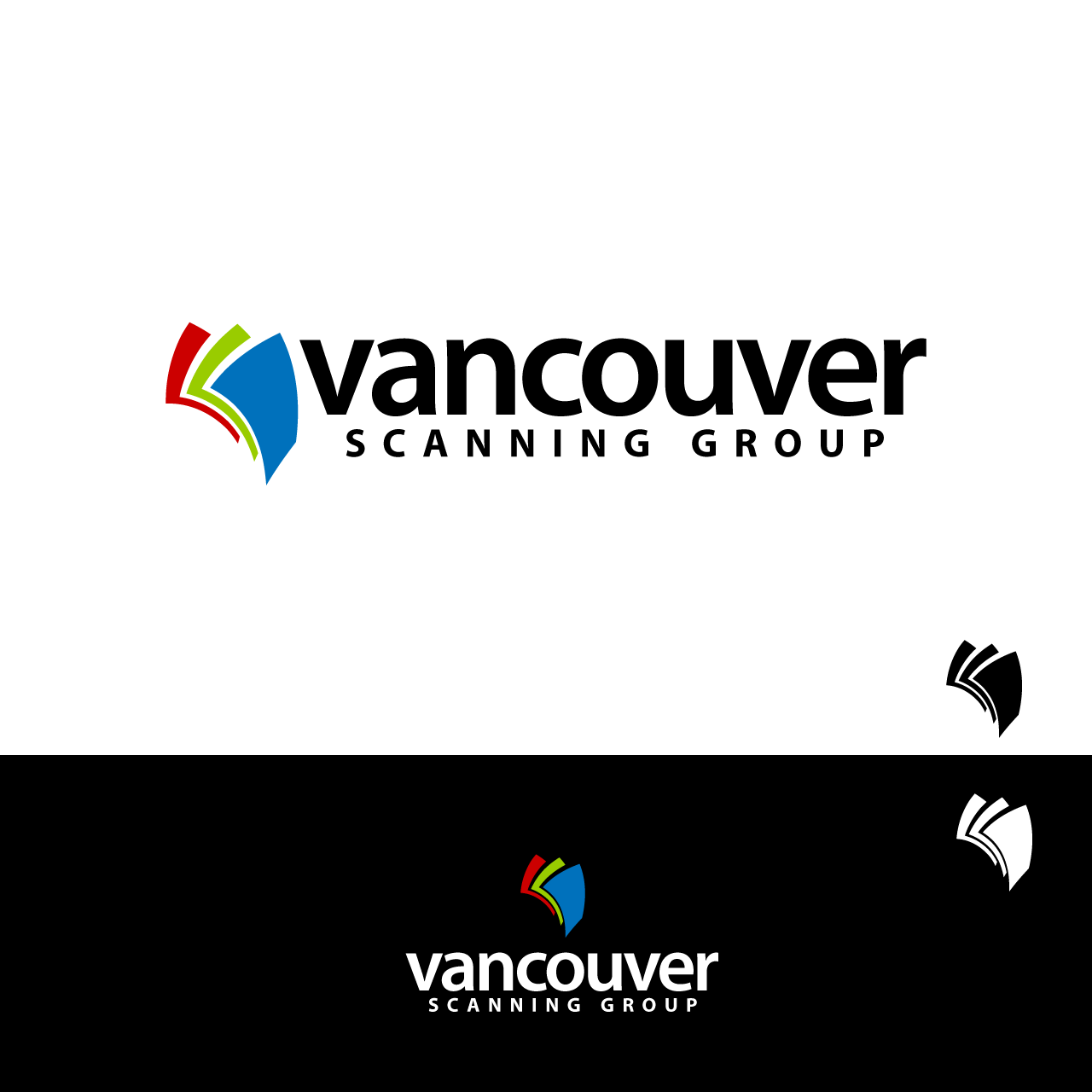 Logo Design by umxca - Entry No. 124 in the Logo Design Contest Vancouver Scanning Group.