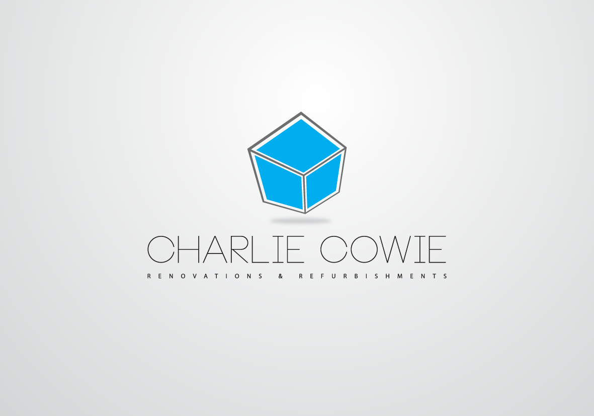 Logo Design by Asrullah Muin - Entry No. 23 in the Logo Design Contest Charlie Cowie Renovations & Refurbishments Logo Design.