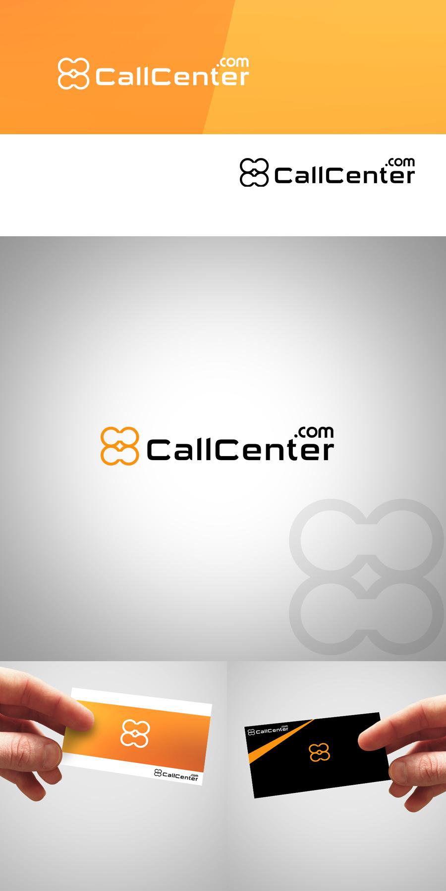 Logo Design by Private User - Entry No. 62 in the Logo Design Contest Captivating Logo Design for CallCenter.com.