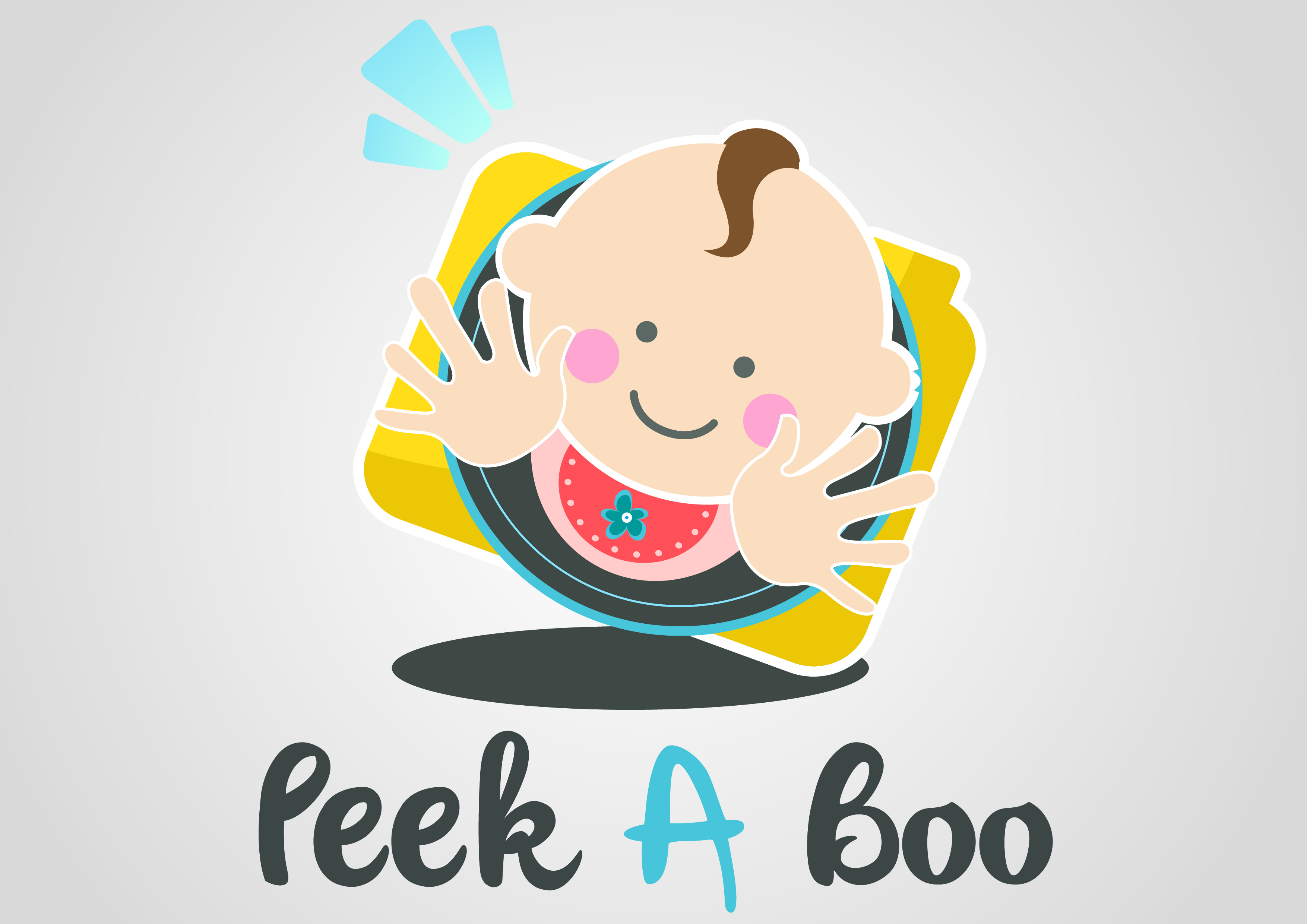 Logo Design by Kimberly Pajarillo - Entry No. 3 in the Logo Design Contest Fun Logo Design for Peek-A-Boo.
