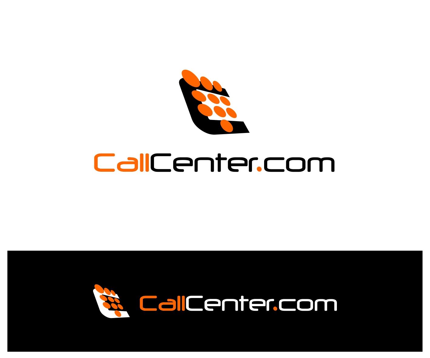 Logo Design by Private User - Entry No. 100 in the Logo Design Contest Captivating Logo Design for CallCenter.com.