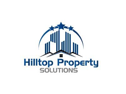 Logo Design by Private User - Entry No. 6 in the Logo Design Contest Imaginative Logo Design for Hilltop Property Solutions.