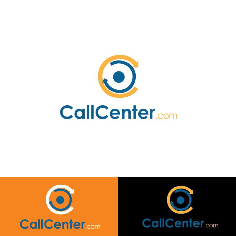 Logo Design by Private User - Entry No. 113 in the Logo Design Contest Captivating Logo Design for CallCenter.com.