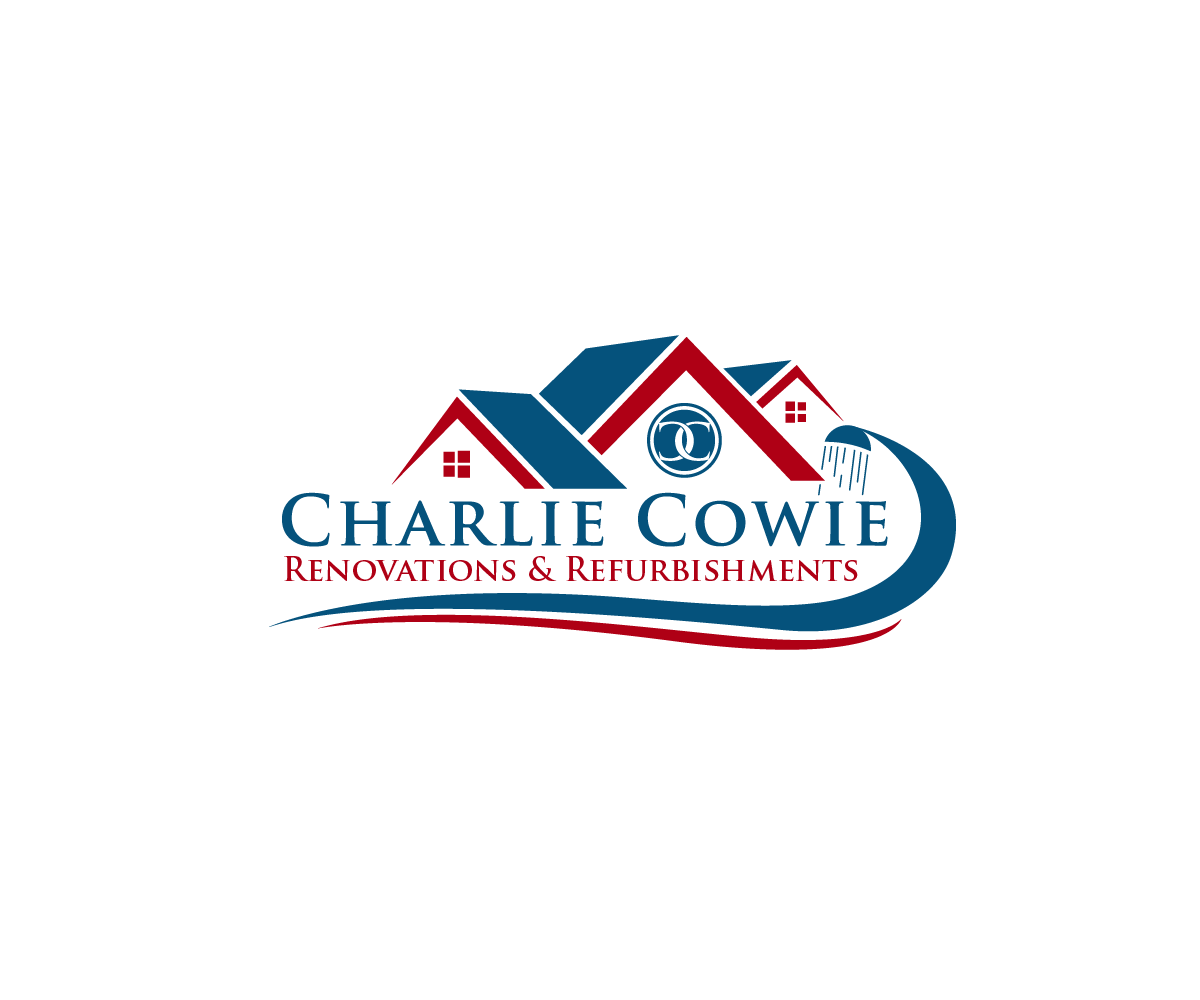 Logo Design by Juan Luna - Entry No. 65 in the Logo Design Contest Charlie Cowie Renovations & Refurbishments Logo Design.