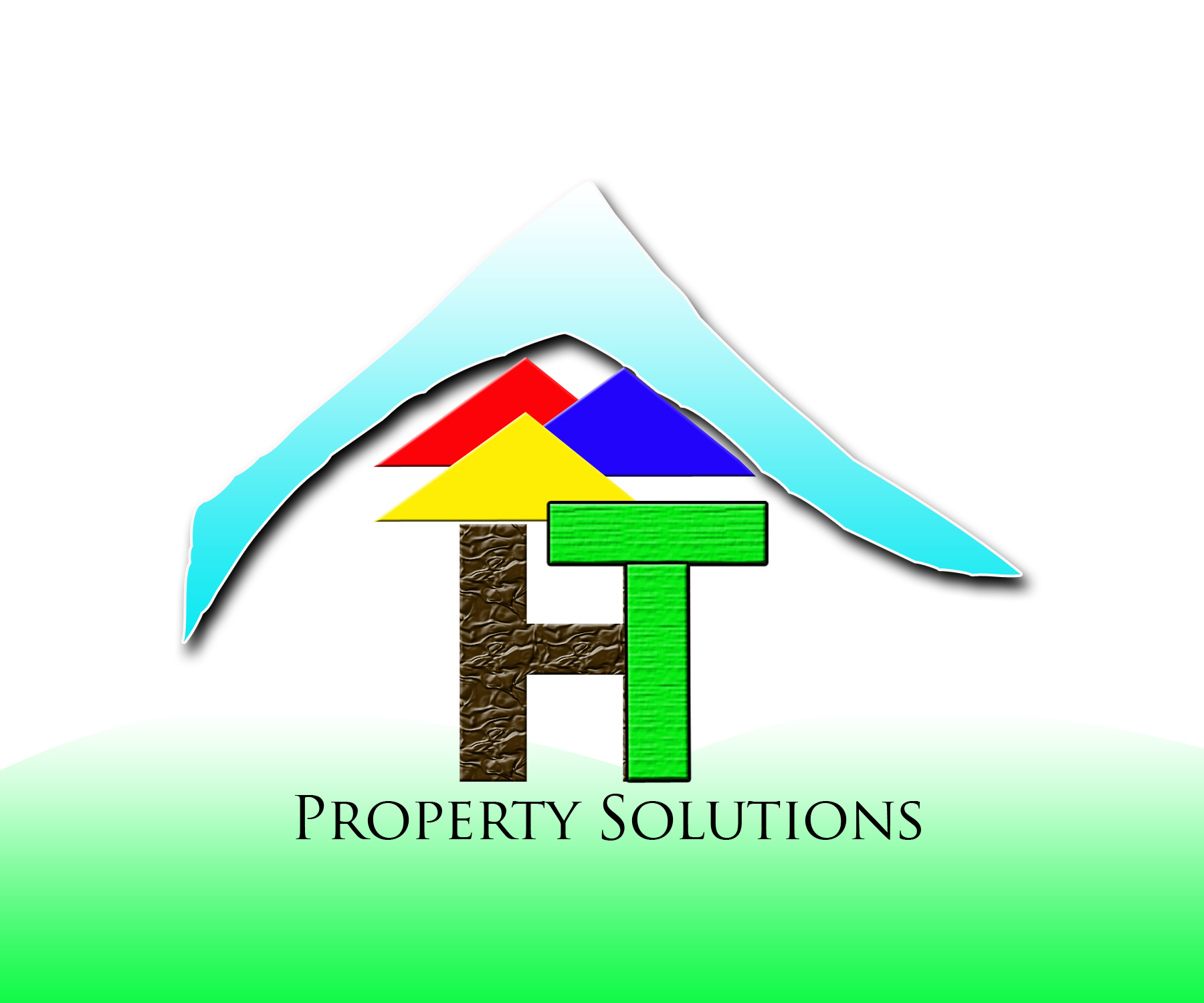 Logo Design by Jade Vinas - Entry No. 17 in the Logo Design Contest Imaginative Logo Design for Hilltop Property Solutions.