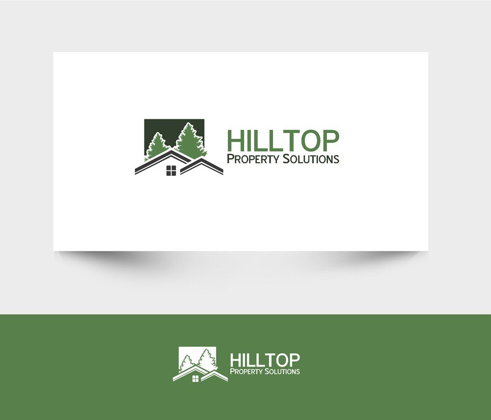 Logo Design by Fita Tiara Sani - Entry No. 23 in the Logo Design Contest Imaginative Logo Design for Hilltop Property Solutions.