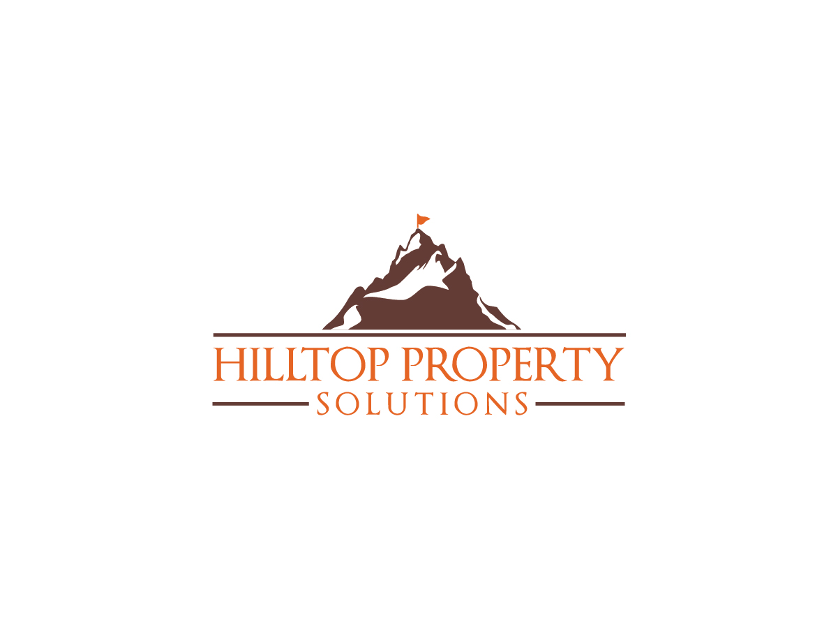 Logo Design by ACHU DHAN - Entry No. 24 in the Logo Design Contest Imaginative Logo Design for Hilltop Property Solutions.