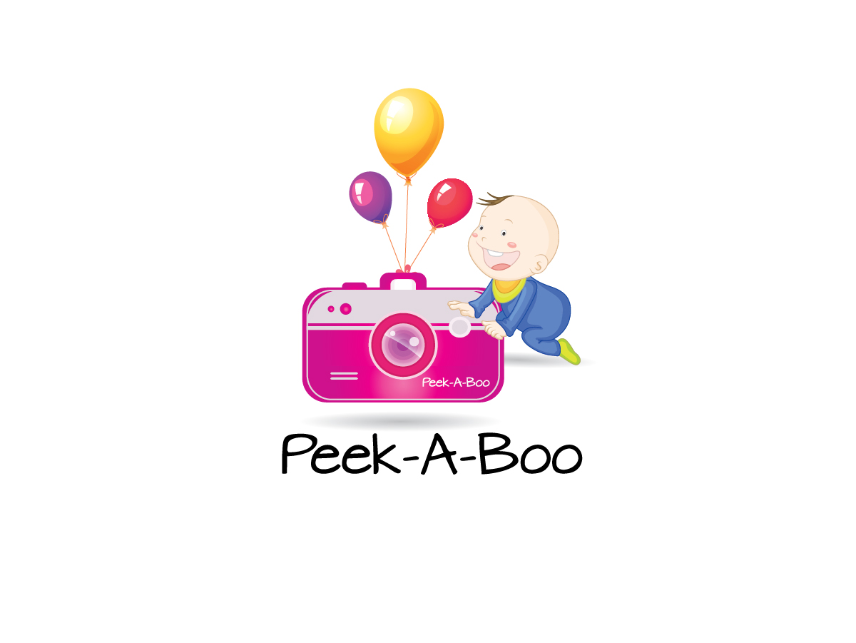 Logo Design by ACHU DHAN - Entry No. 26 in the Logo Design Contest Fun Logo Design for Peek-A-Boo.