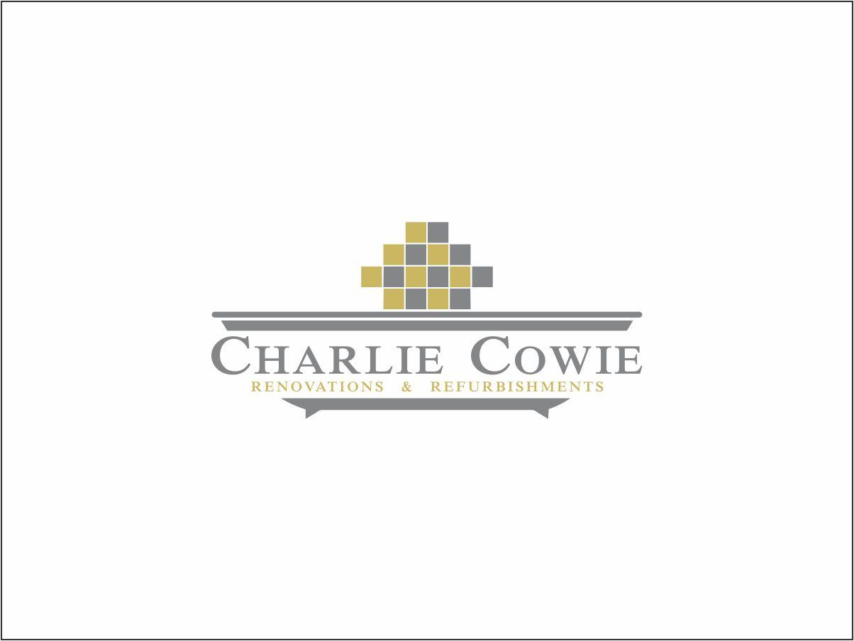 Logo Design by Juan_Kata - Entry No. 90 in the Logo Design Contest Charlie Cowie Renovations & Refurbishments Logo Design.