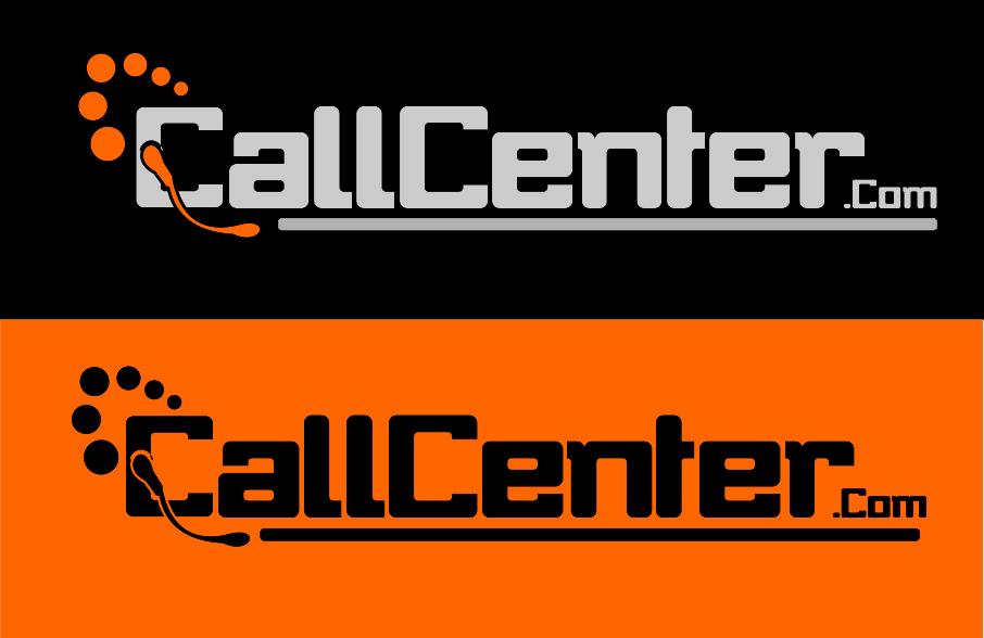 Logo Design by brands_in - Entry No. 186 in the Logo Design Contest Captivating Logo Design for CallCenter.com.