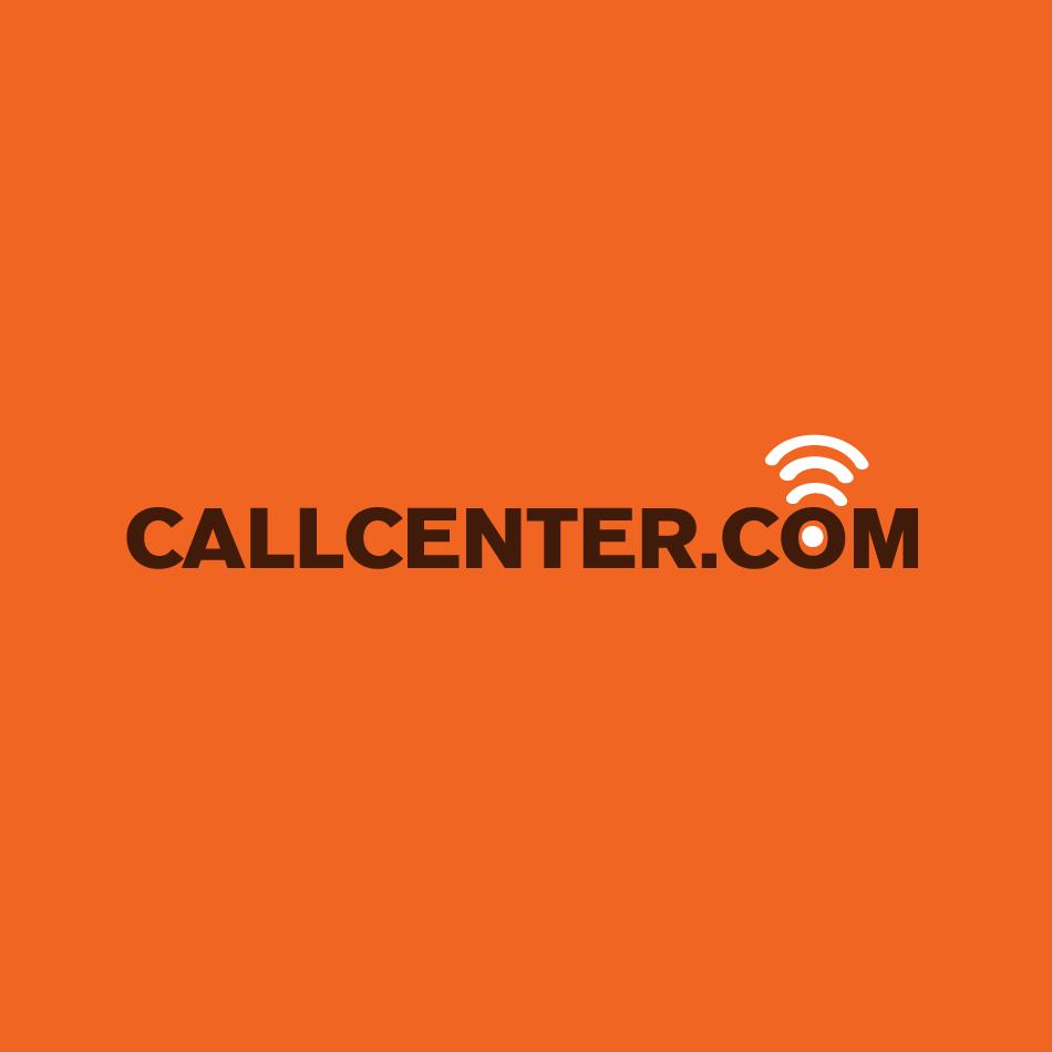 Logo Design by moonflower - Entry No. 226 in the Logo Design Contest Captivating Logo Design for CallCenter.com.