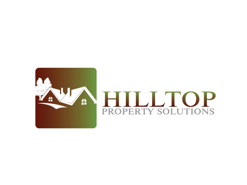 Logo Design by brands_in - Entry No. 61 in the Logo Design Contest Imaginative Logo Design for Hilltop Property Solutions.