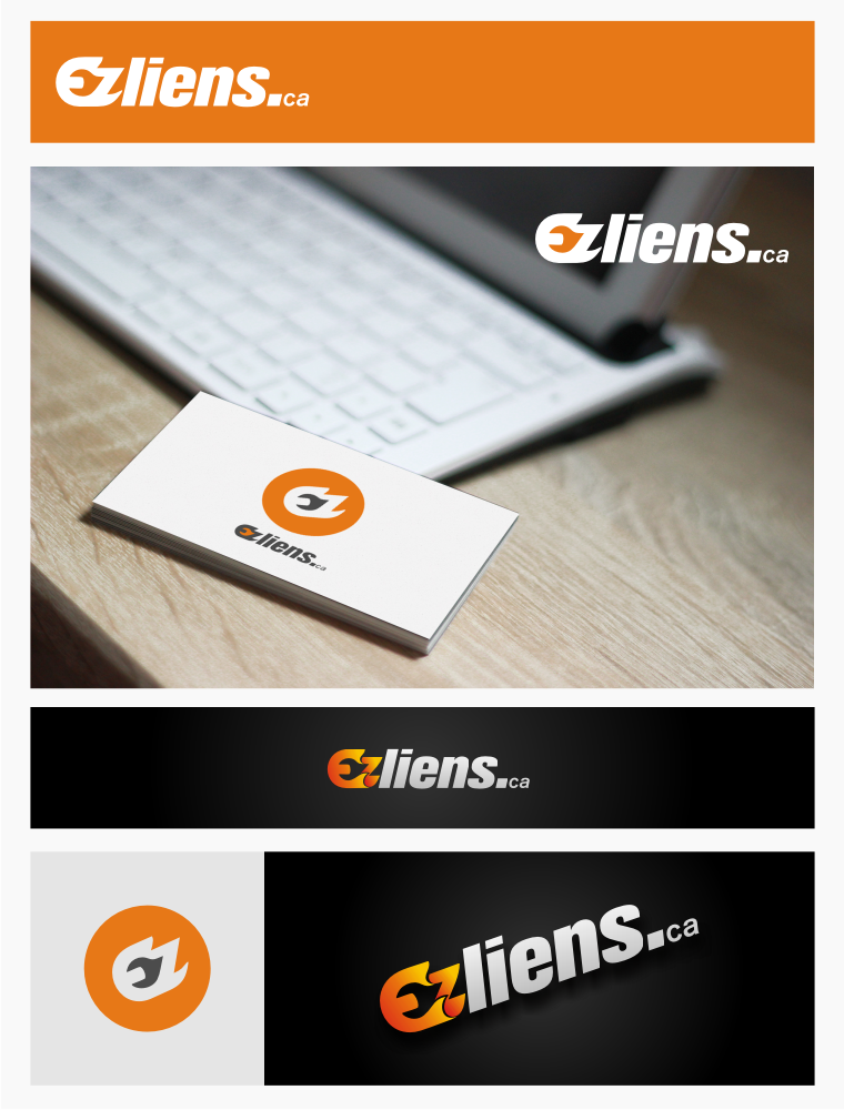 Logo Design by graphicleaf - Entry No. 47 in the Logo Design Contest Artistic Logo Design for EZliens.ca.