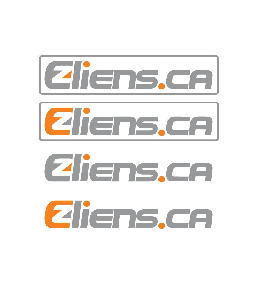 Logo Design by RasYa Muhammad Athaya - Entry No. 56 in the Logo Design Contest Artistic Logo Design for EZliens.ca.