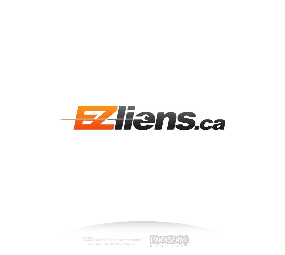 Logo Design by pandisenyo - Entry No. 68 in the Logo Design Contest Artistic Logo Design for EZliens.ca.