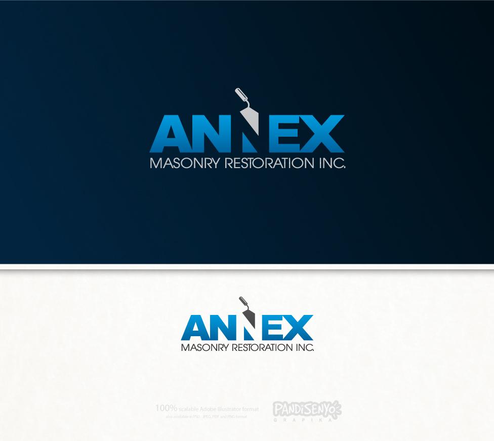 Logo Design by pandisenyo - Entry No. 19 in the Logo Design Contest Annex Masonry Restoration Inc. Logo Design.