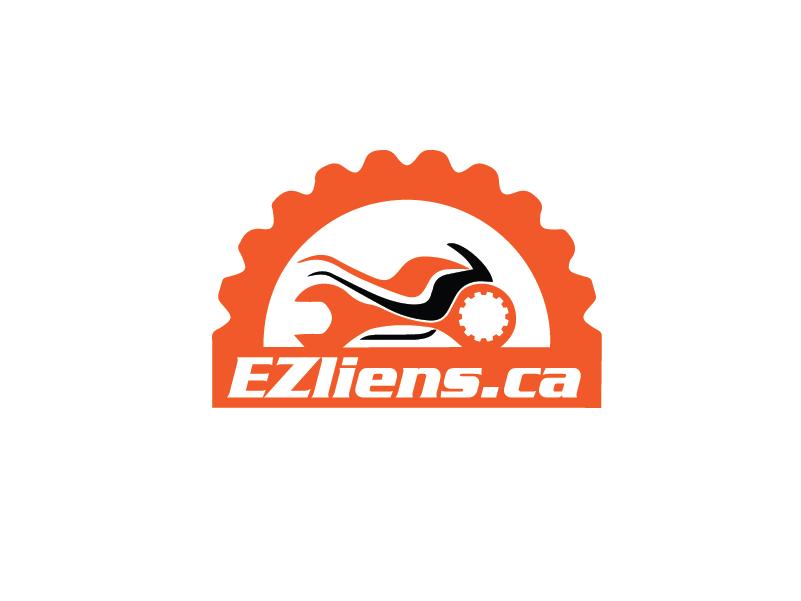 Logo Design by brands_in - Entry No. 100 in the Logo Design Contest Artistic Logo Design for EZliens.ca.