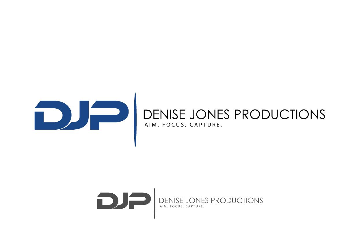 Logo Design by Saryanto Rinda - Entry No. 10 in the Logo Design Contest Captivating Logo Design for Denise Jones Productions Inc..