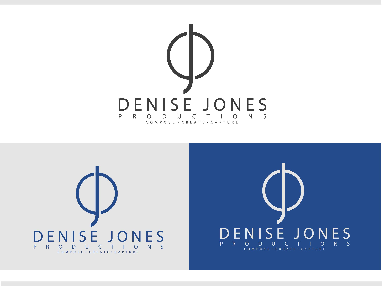 Logo Design by Allan Esclamado - Entry No. 36 in the Logo Design Contest Captivating Logo Design for Denise Jones Productions Inc..