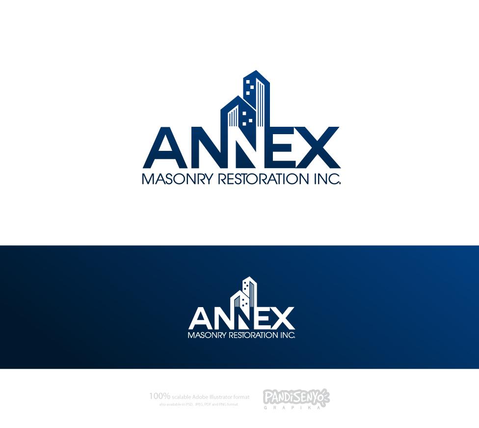 Logo Design by pandisenyo - Entry No. 33 in the Logo Design Contest Annex Masonry Restoration Inc. Logo Design.