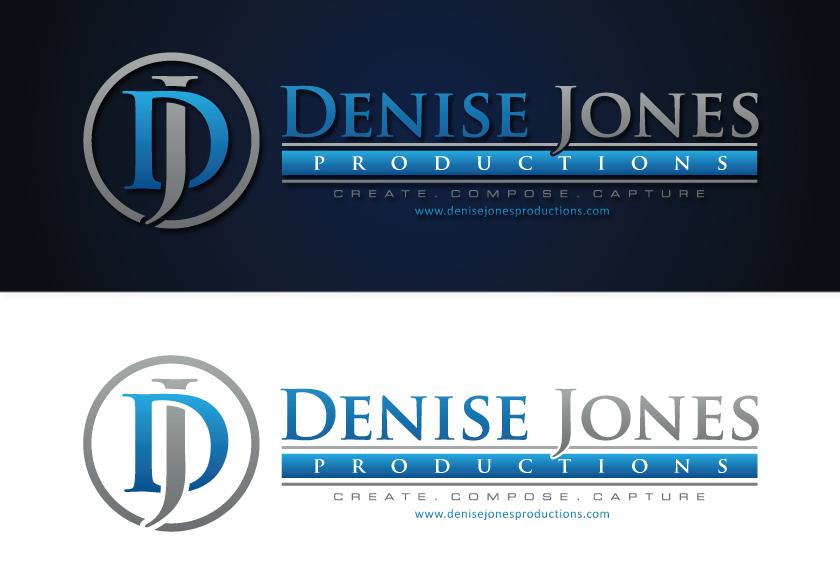 Logo Design by RasYa Muhammad Athaya - Entry No. 55 in the Logo Design Contest Captivating Logo Design for Denise Jones Productions Inc..