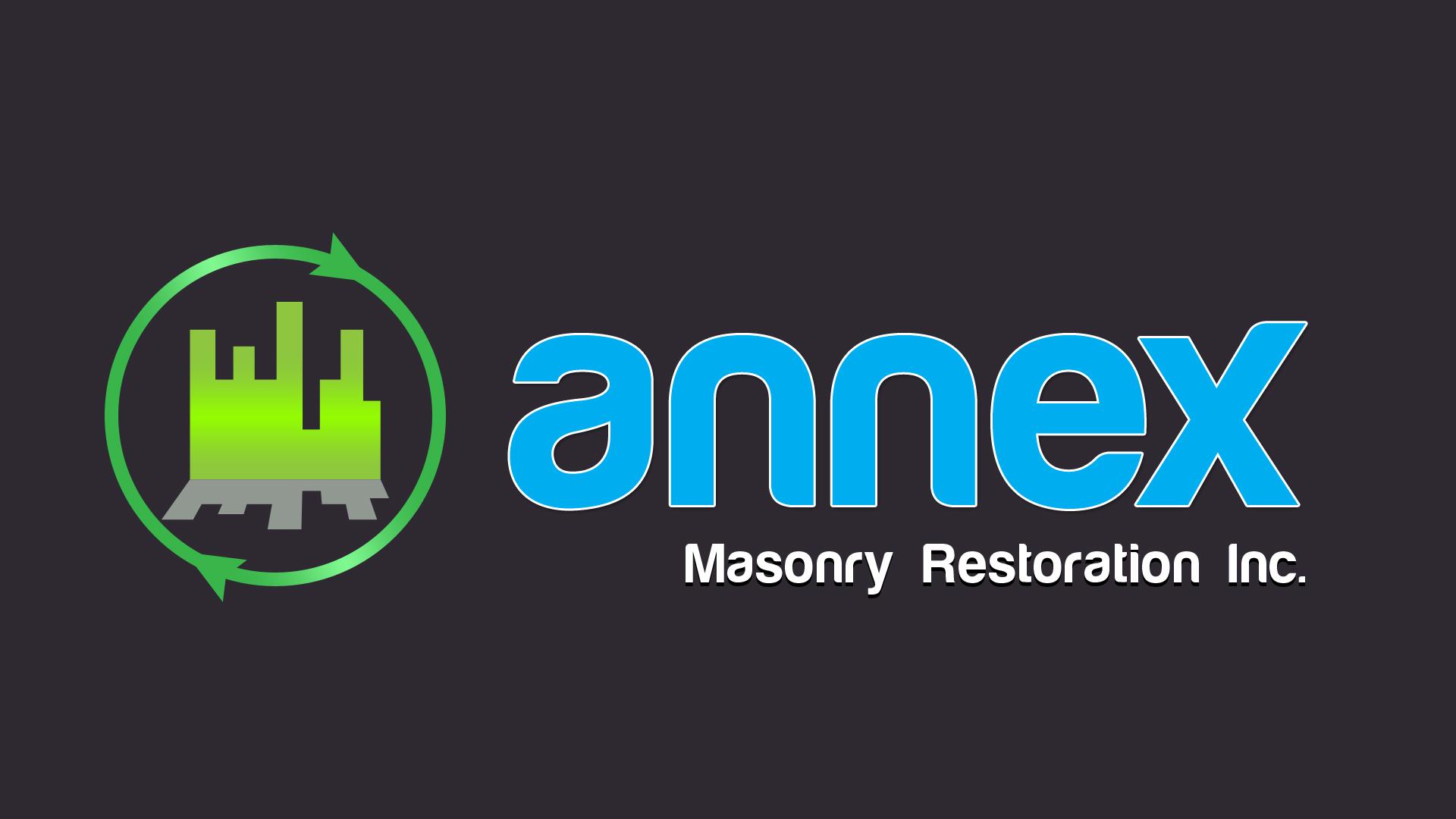 Logo Design by Ajaysinh Patil - Entry No. 45 in the Logo Design Contest Annex Masonry Restoration Inc. Logo Design.