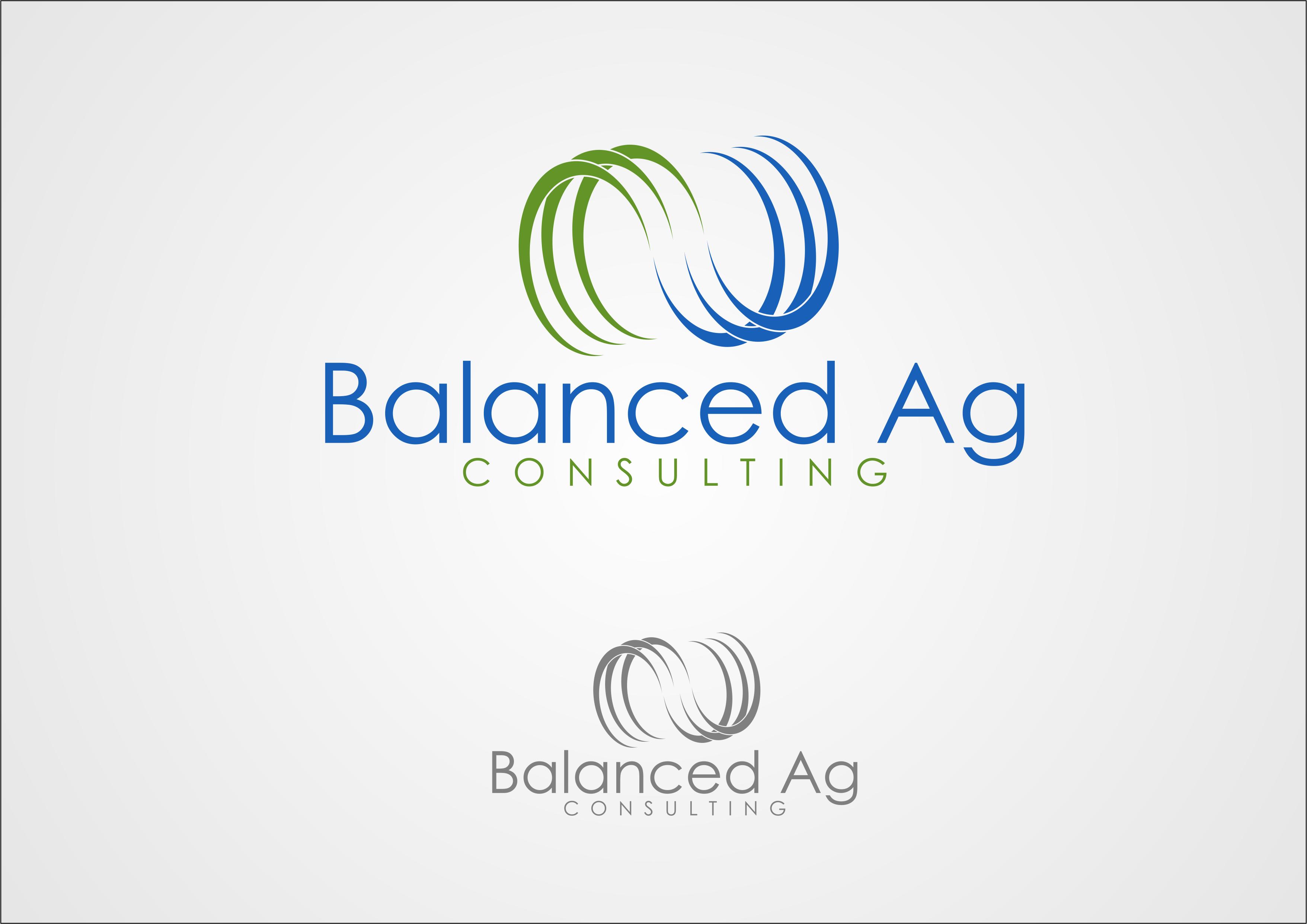 Logo Design by Milan Marijanovic - Entry No. 69 in the Logo Design Contest Captivating Logo Design for Balanced Ag Consulting.