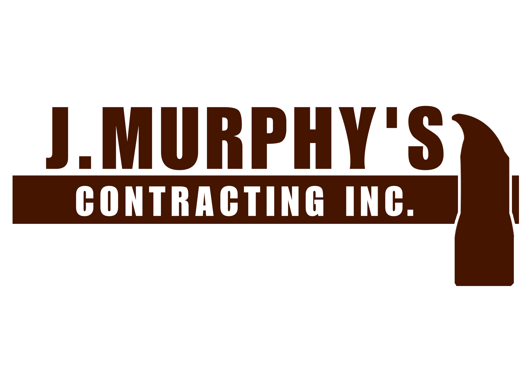 Logo Design by Hardik Singh - Entry No. 31 in the Logo Design Contest New Logo Design for J. Murphy's Contracting Inc..