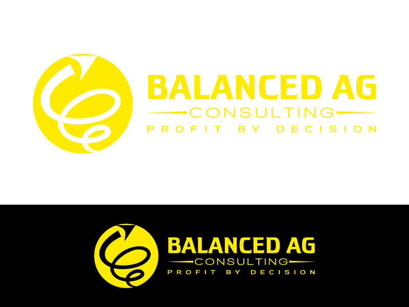 Logo Design by Art_Chaza - Entry No. 87 in the Logo Design Contest Captivating Logo Design for Balanced Ag Consulting.